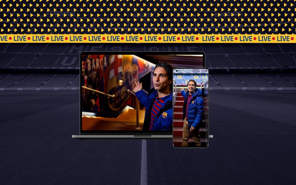 Camp Nou launches new live interactive virtual tour from home