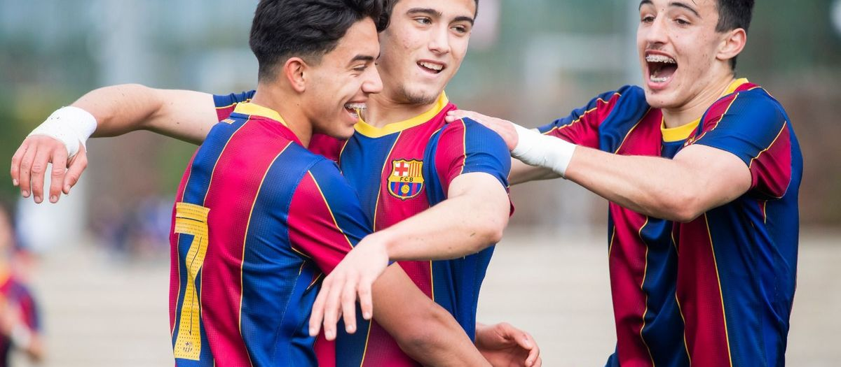 LIVE U19 FOOTBALL: Barça A v Damm