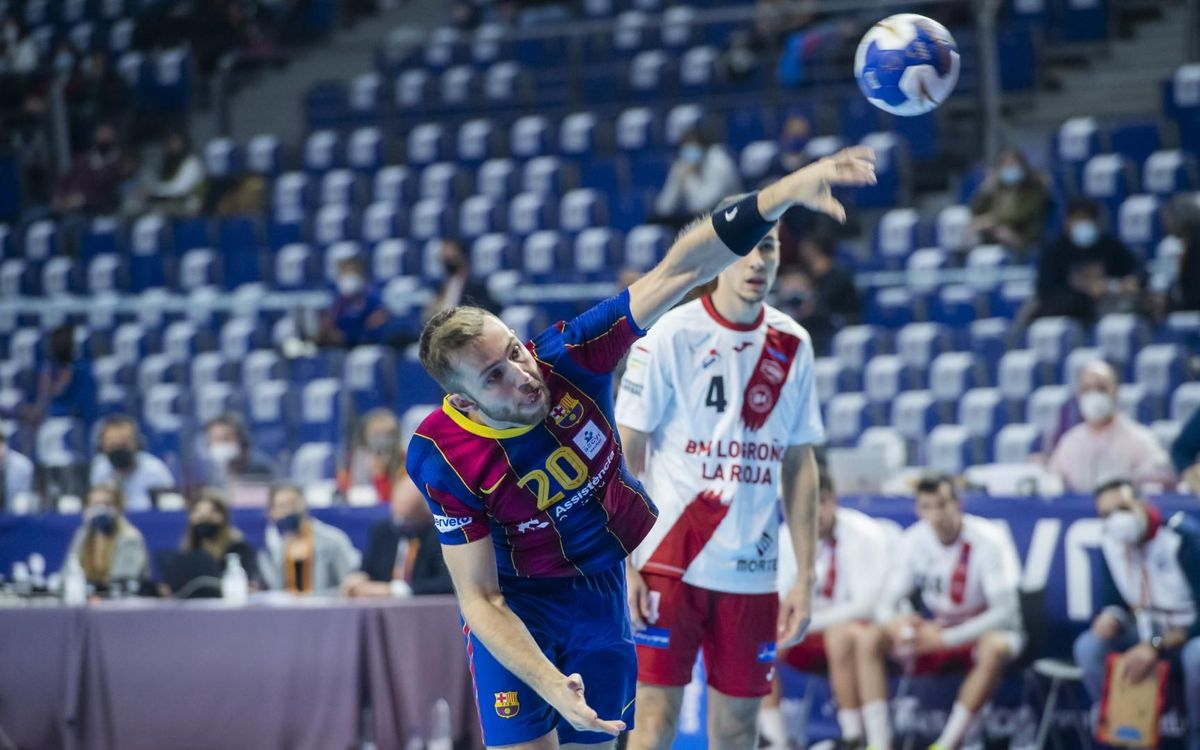 Barça 28-24 Logroño: Into the semi finals