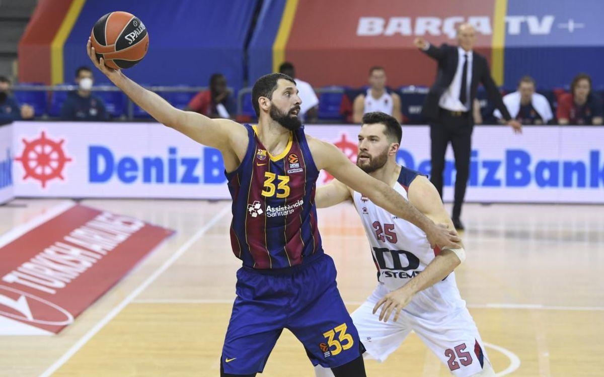 Barça - Baskonia: Triomf treballat per seguir liderant (71-57)