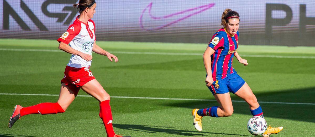 Santa Teresa – FC Barcelona Femení: No val a badar