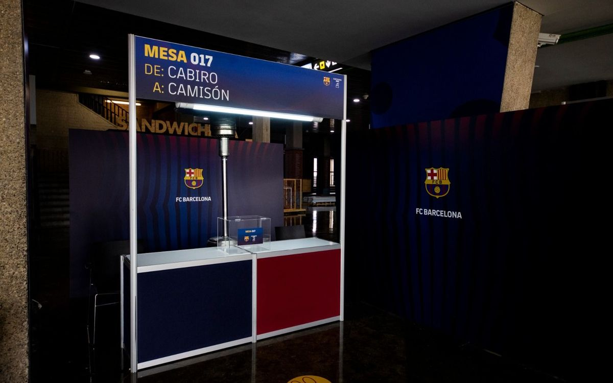 FC Barcelona goes to the polls to vote for its 42nd president