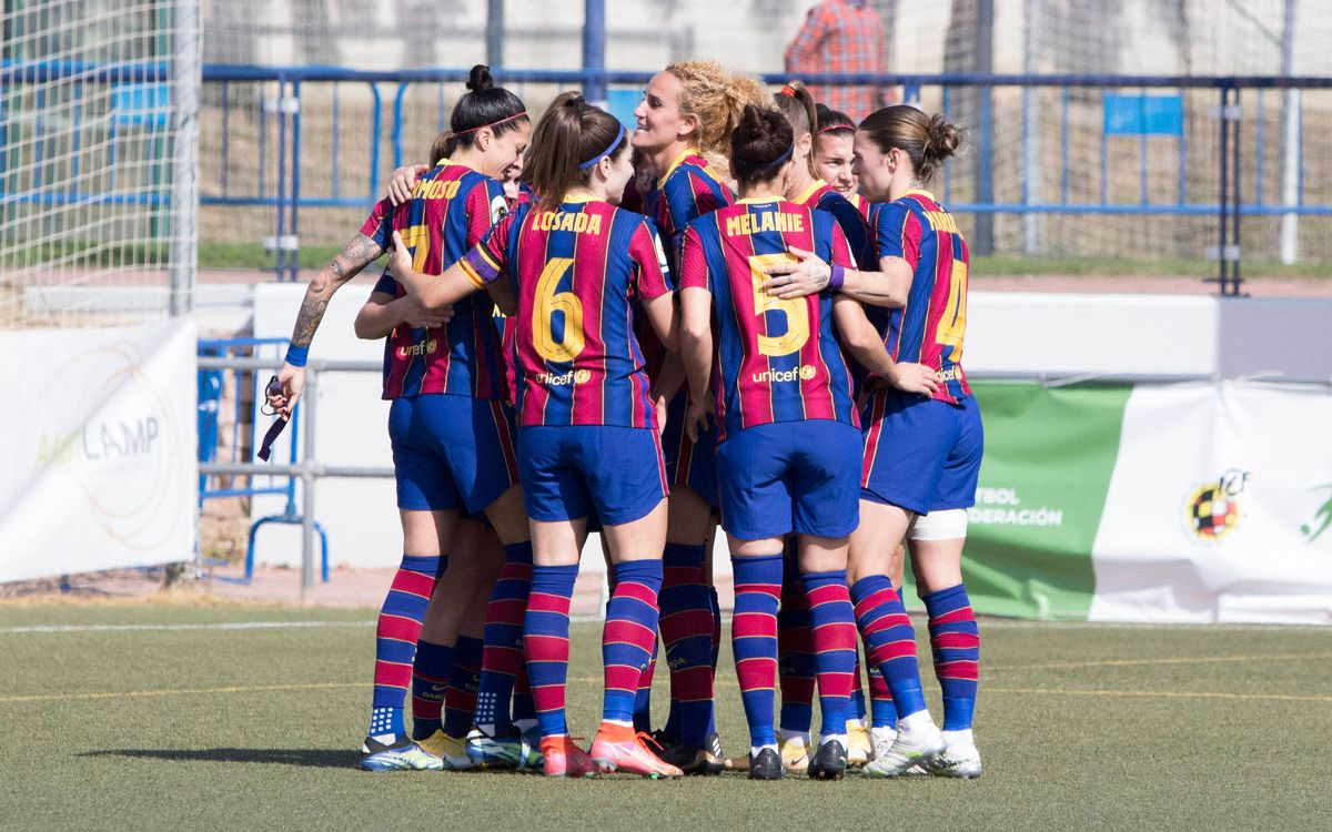 Santa Teresa - Barça Femenino: Poder azulgrana (0-3)