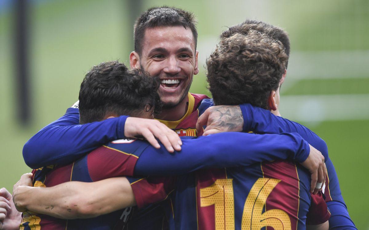 Barça B 4-2 Llagostera: What a comeback!