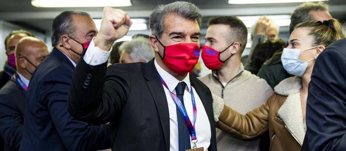 Joan Laporta, de retour à la Présidence du Barça