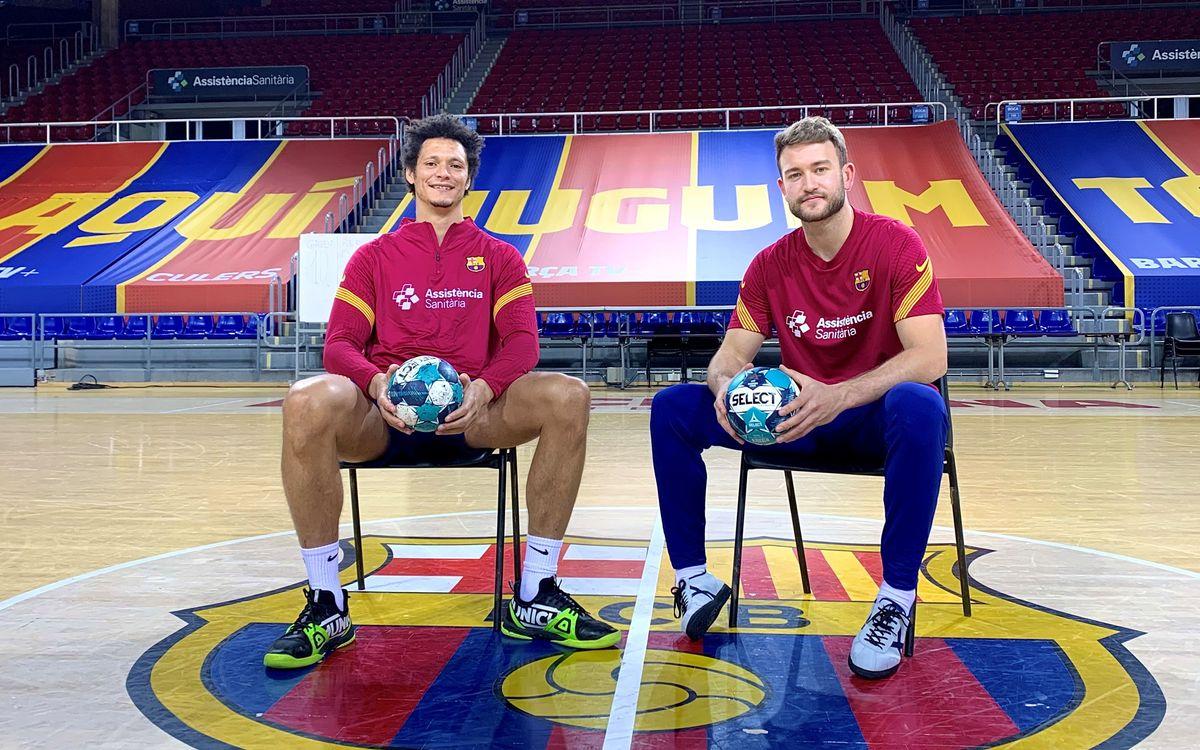 Behind the scenes EHF: Pérez de Vargas & Petrus