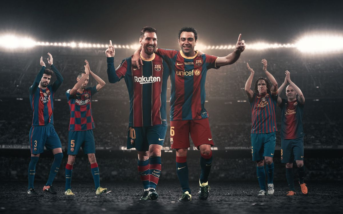 Messi one game away from equaling Xavi Hernández' historic record