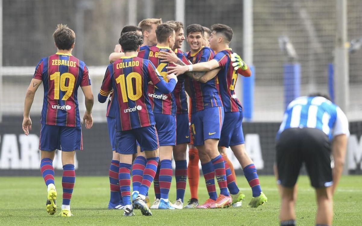 Espanyol B 0-1 Barça B: The derby is blaugrana!