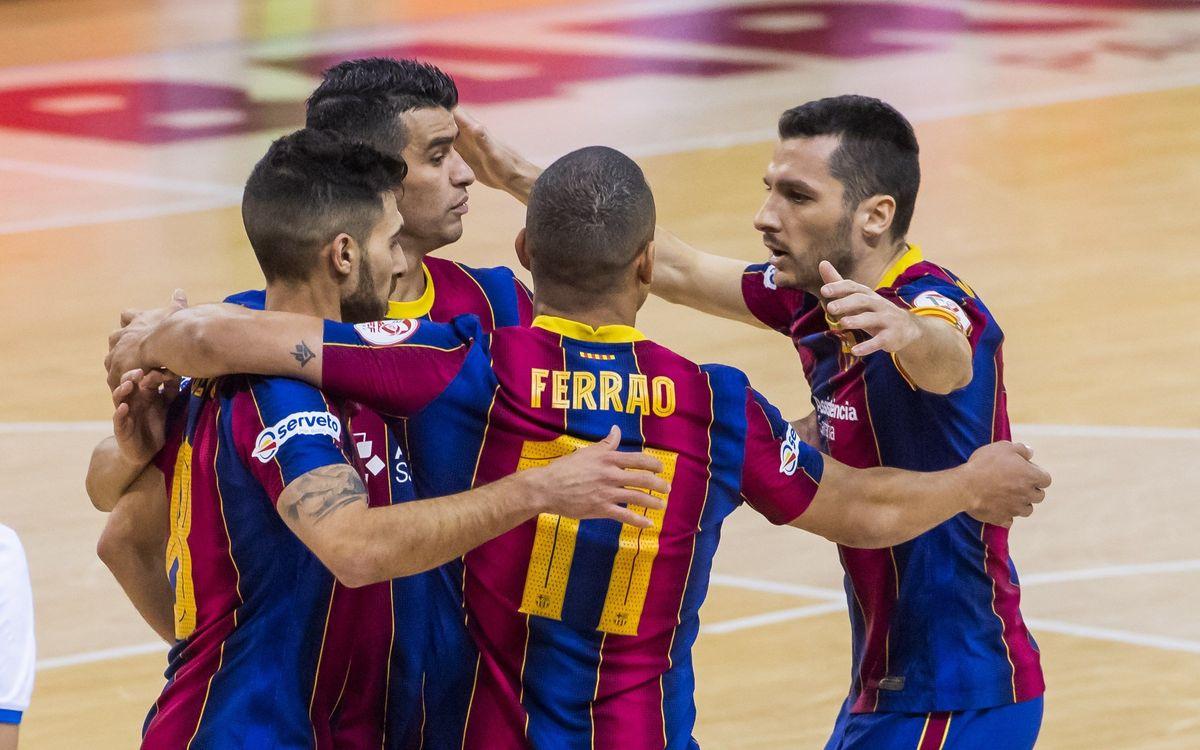 Barça 3-0 Valdepeñas: No mercy