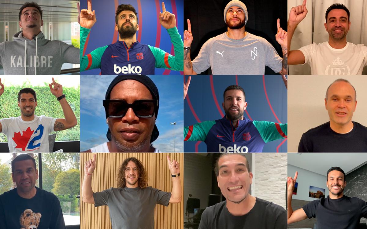 Les anciens coéquipiers de Messi le félicitent pour son record