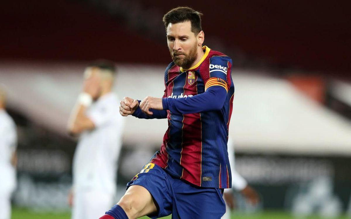 Messi, au moins 20 buts en Liga pour la 13ème saison consécutive