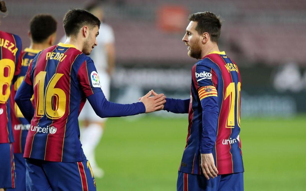 FC Barcelona - Getafe: Cal enfilar el camí del triomf