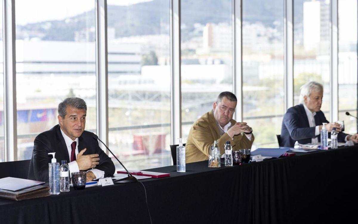 La nueva Junta Directiva del FC Barcelona ha formalizado los cargos de sus miembros y la incorporación de nuevos integrantes.