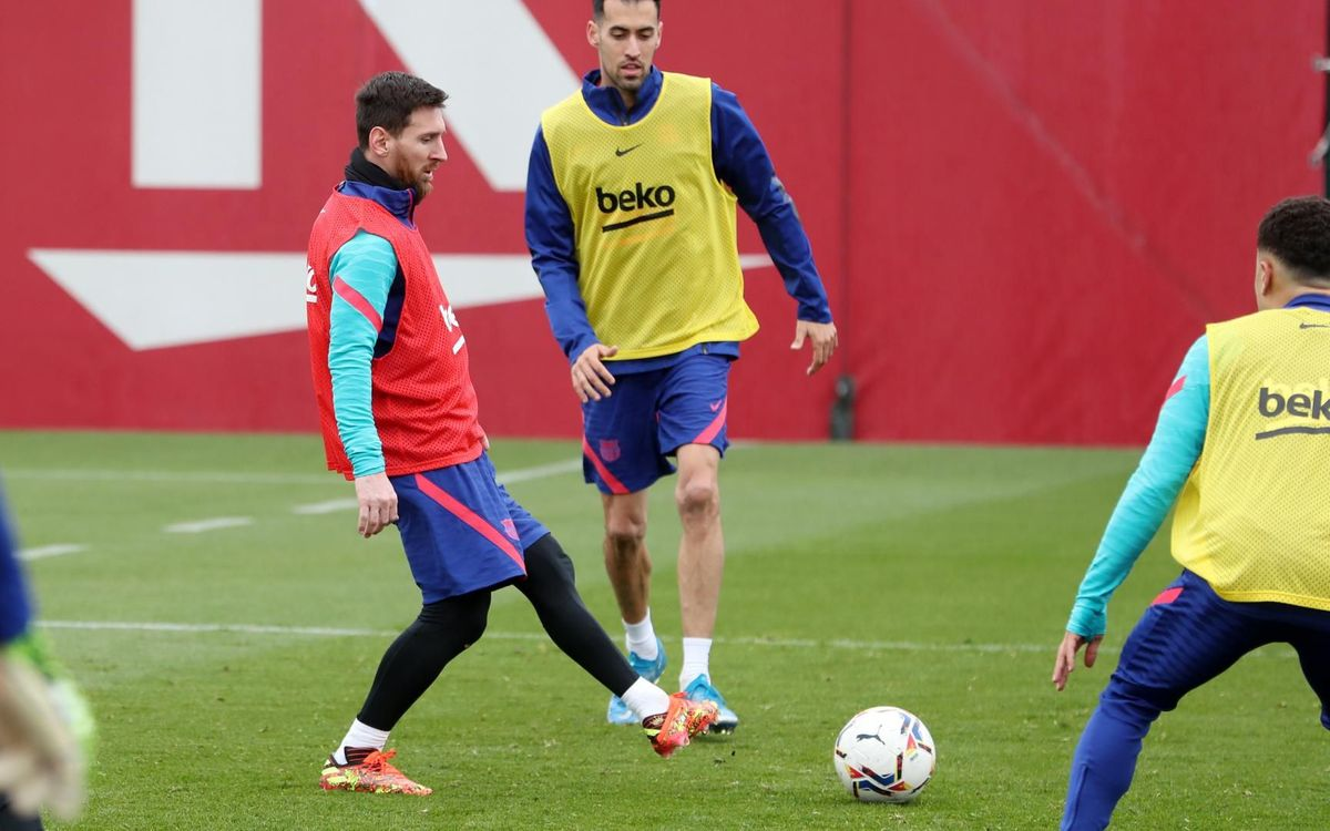 Return to training with the focus on Real Sociedad