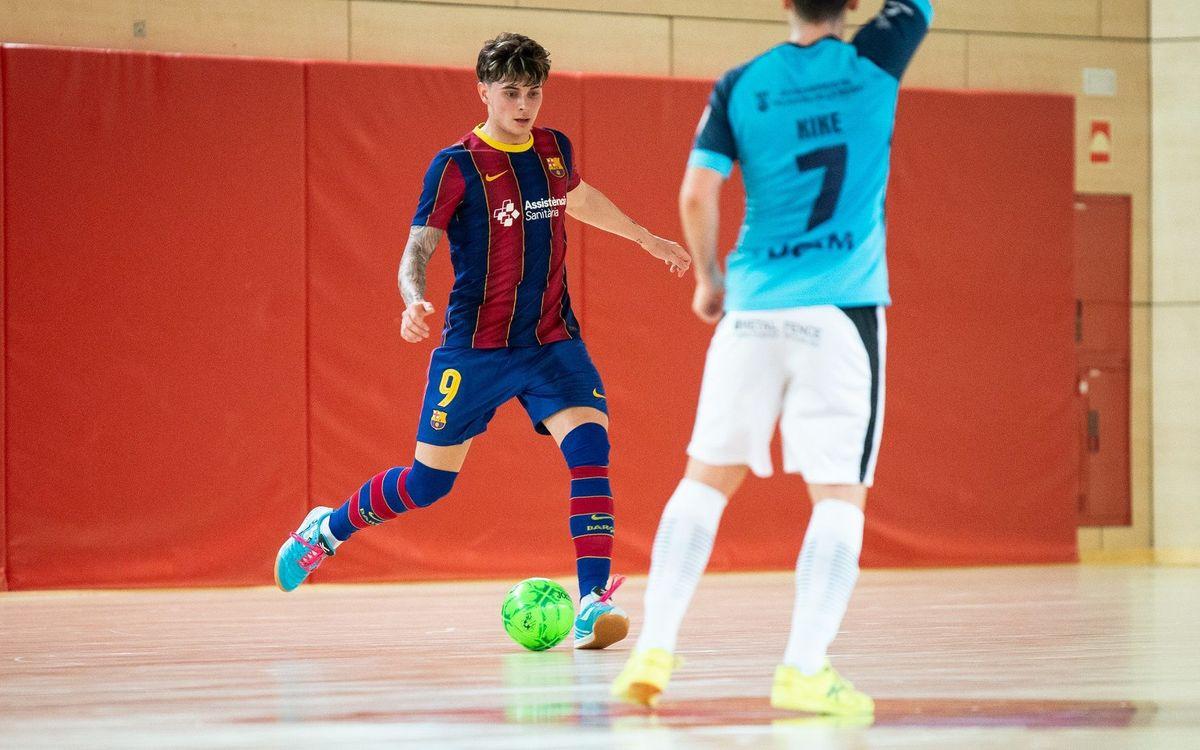 Barça B – Soliss Talavera FS: Sense encert (2-7)