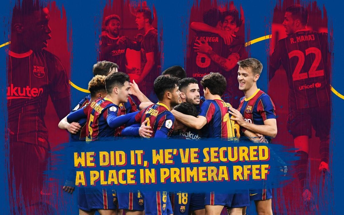 Barça B secure place in Primera RFEF