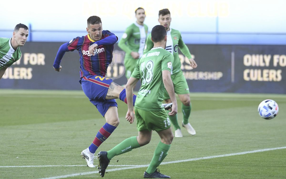 FC Barcelona B 0-0 Cornellà: Out of luck