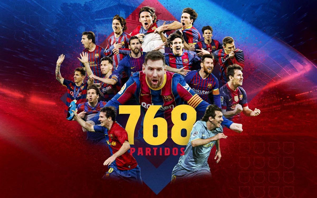 Leo Messi supera el récord histórico de Xavi Hernández