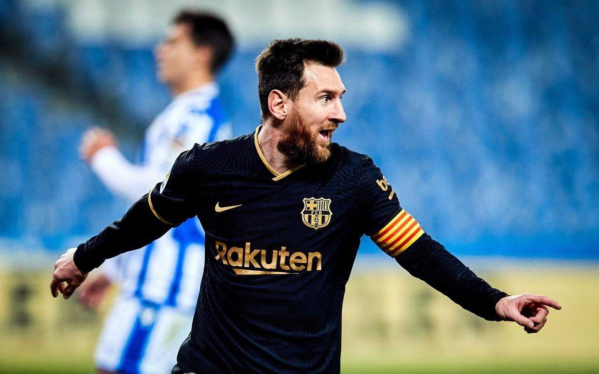 Messi inscrit son 700ème but en blaugrana