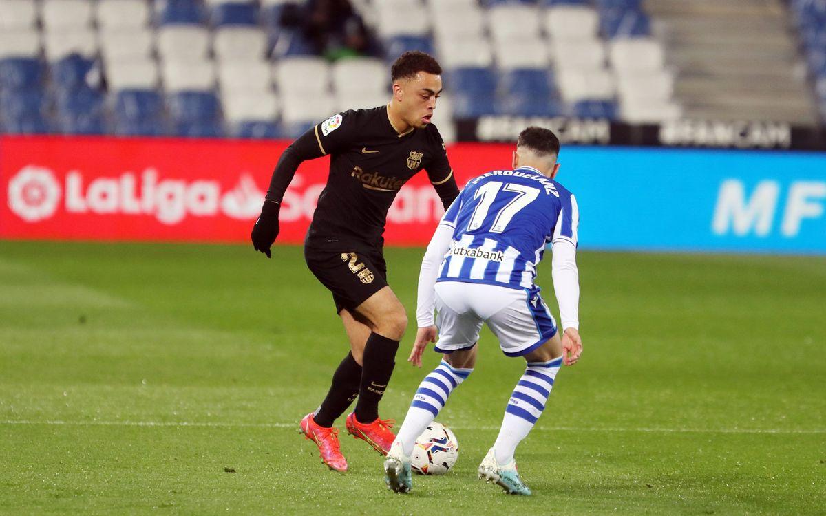 Brace from Sergiño Dest against Real Sociedad