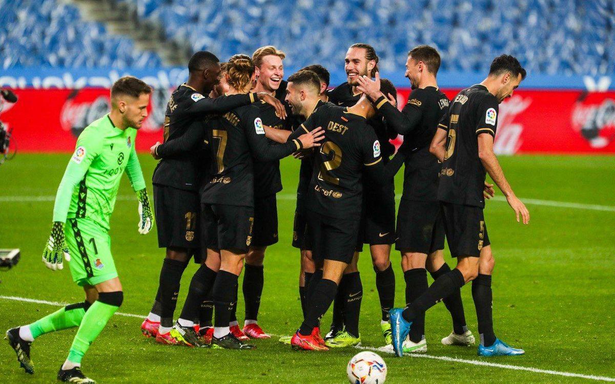Nine consecutive away wins in LaLiga