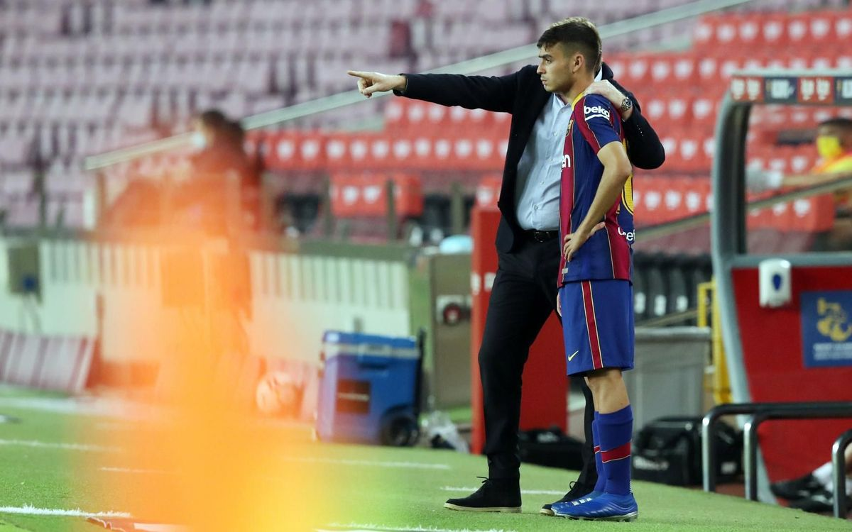 Pedri in Spain squad 'thanks to Koeman'