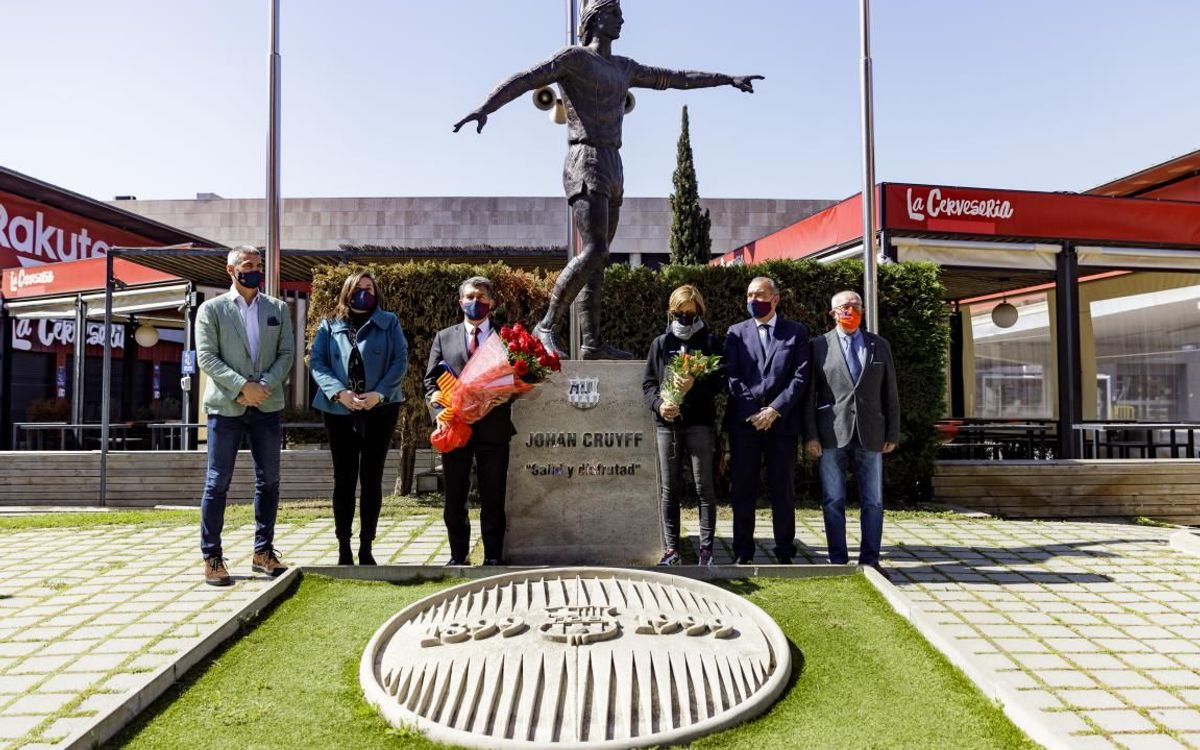 Barça remember Cruyff on fifth anniversary of his passing