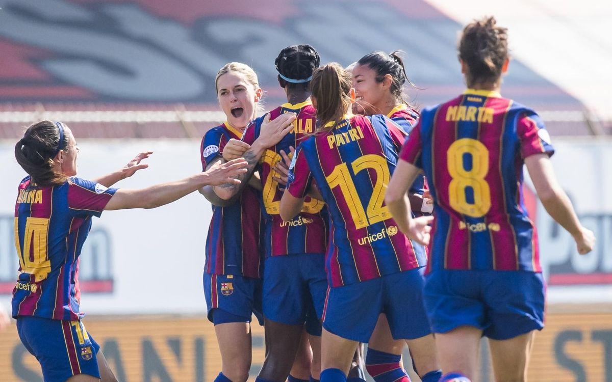 Barça Women 3–0 Manchester City: Exhibition of football