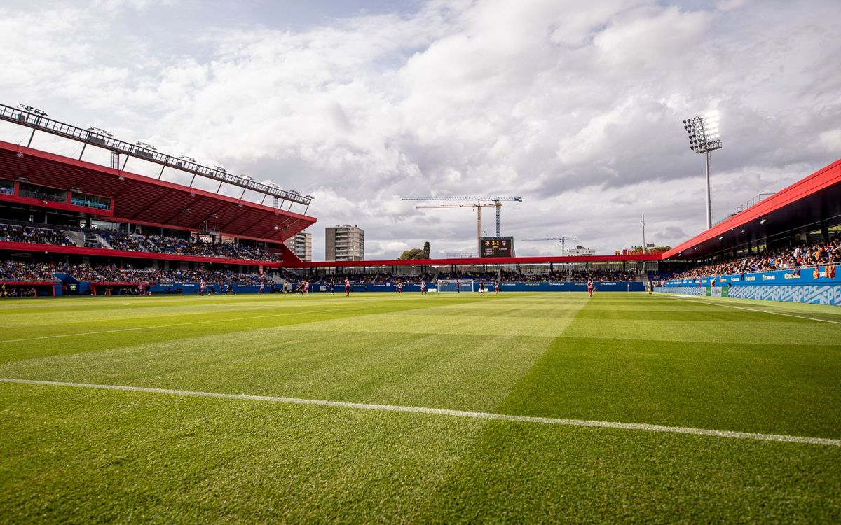 Fans to return to Estadi Johan Cruyff for Barça Women game