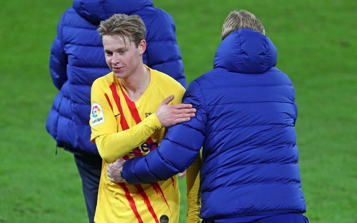 De Jong est le joueur le plus utilisé par Koeman cette saison