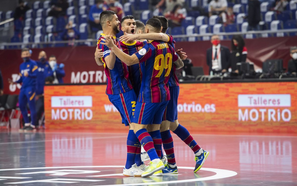 Barça 3-3 (4-3) ElPozo Murcia: Into the semifinals!