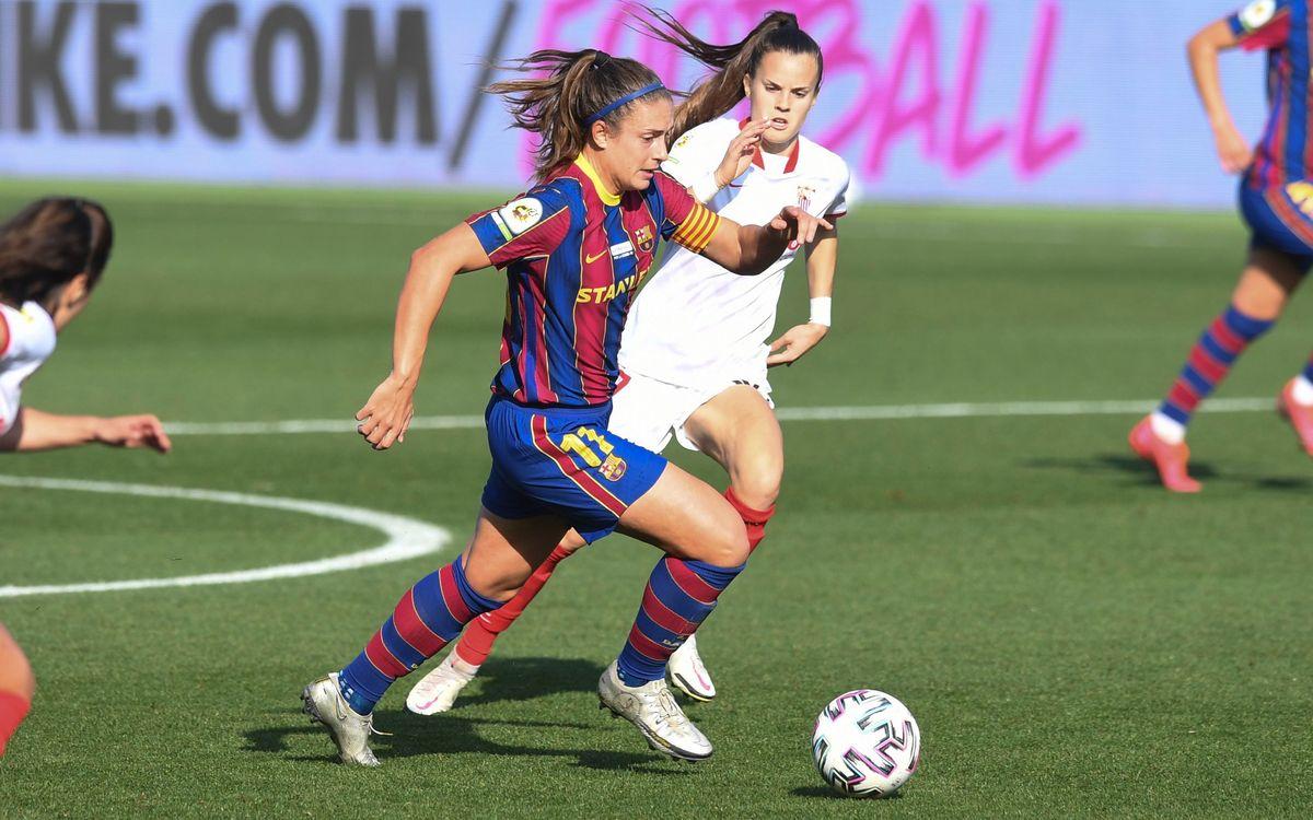 Sevilla - FC Barcelona Femení: A seguir con el buen nivel