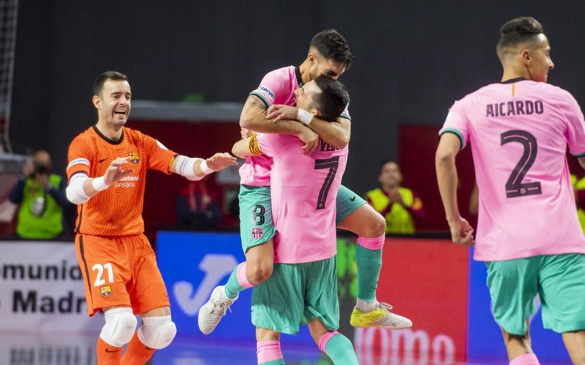 Levante 3-6 Barça: Into the final!