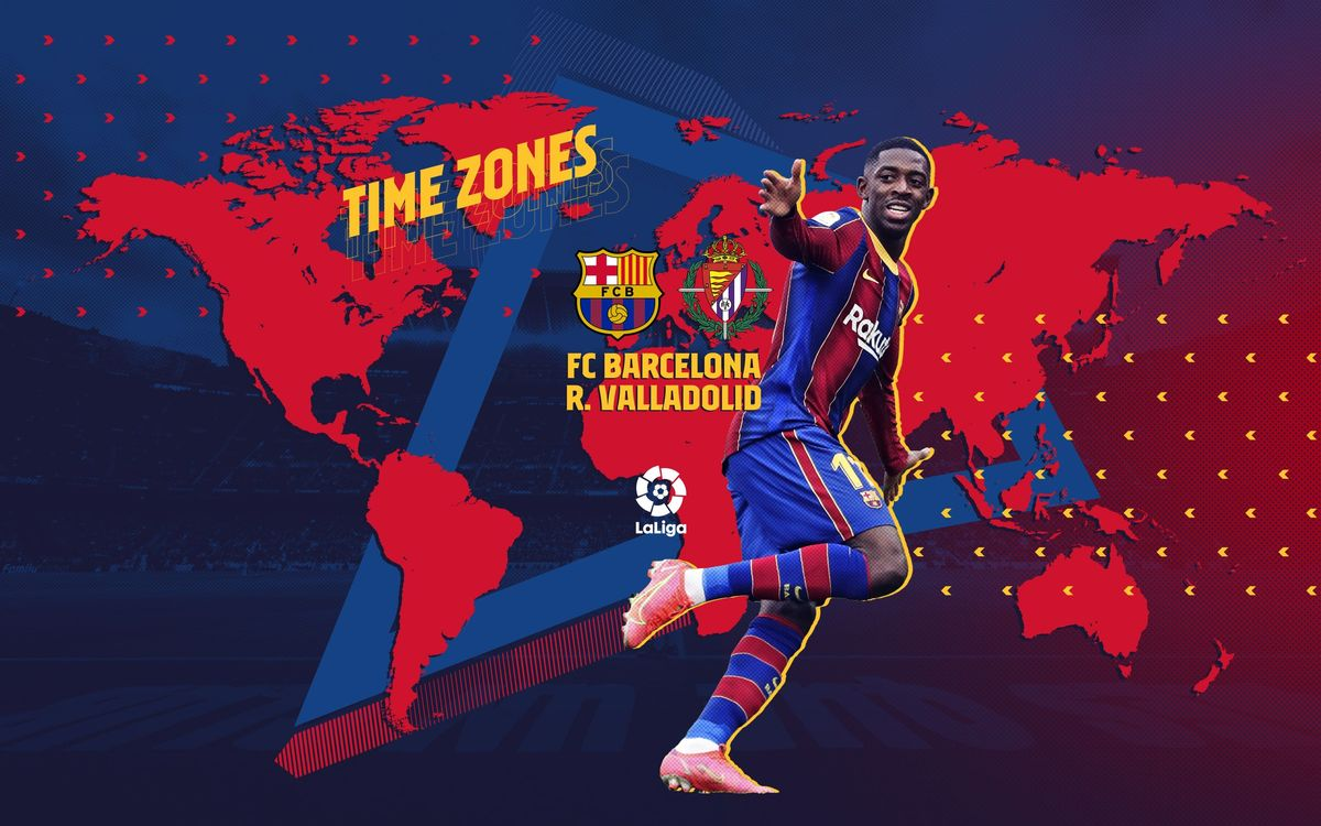 When and where to watch Barça v Valladolid