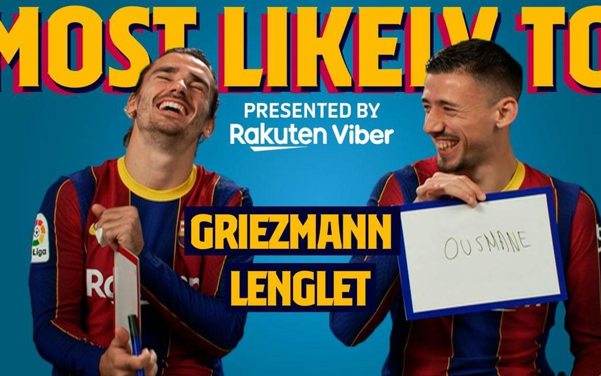 'Qui a le plus de chances de... ?' Avec Griezmann et Lenglet