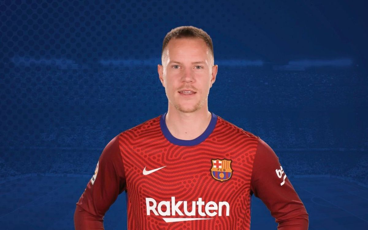 Ter Stegen sends a message of support to refugee children in Greece