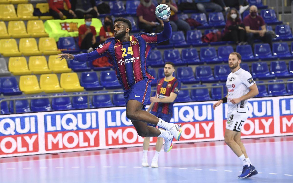 Elverum - Barça: El públic gaudeix d'una incontestable victòria (25-37)