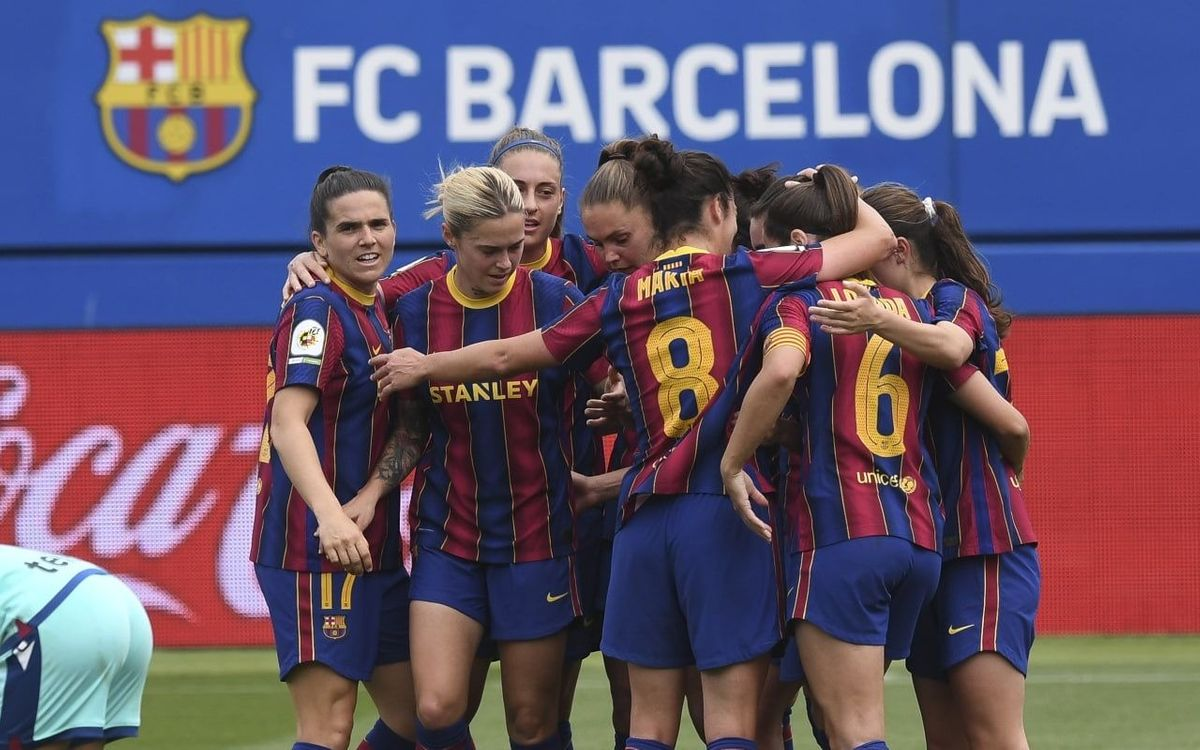 Barça Women 7-1 Levante: One way traffic!