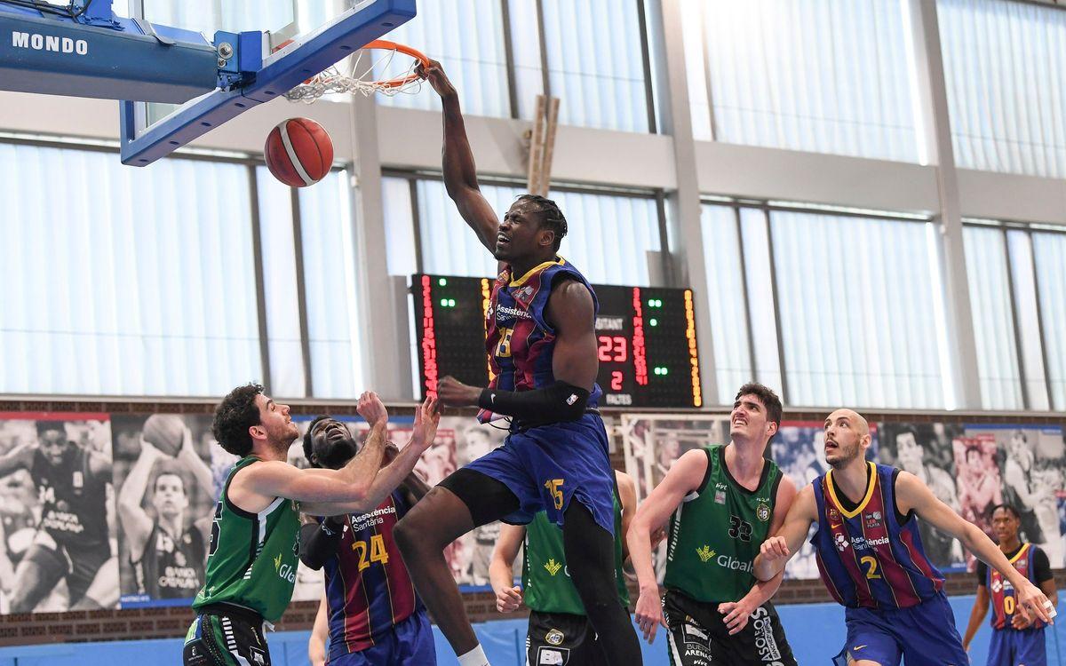 Barça B – Albacete Basket (106-74): Imparables
