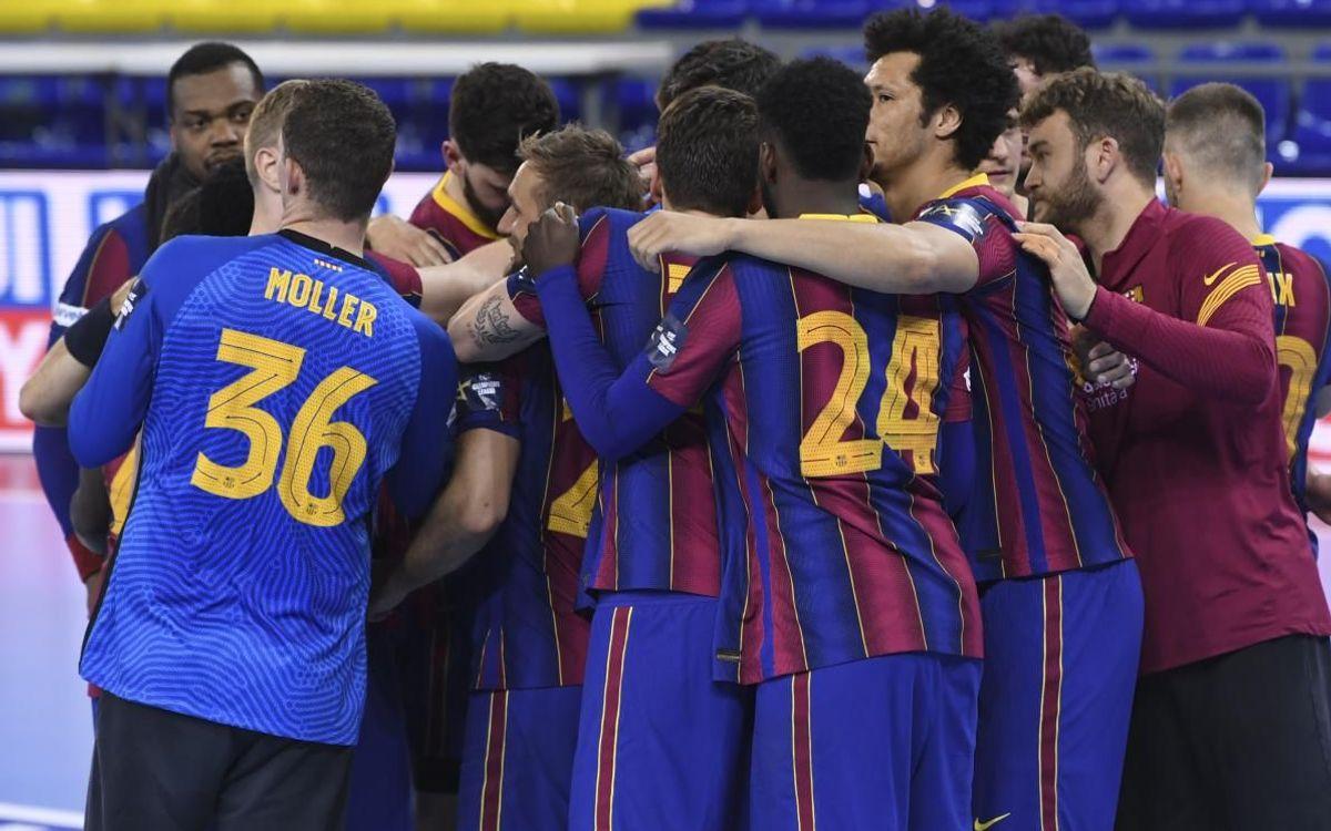 Barça - Elverum: Con solvencia hacia cuartos (39-19)