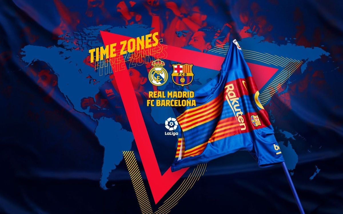 When and where to watch El Clásico