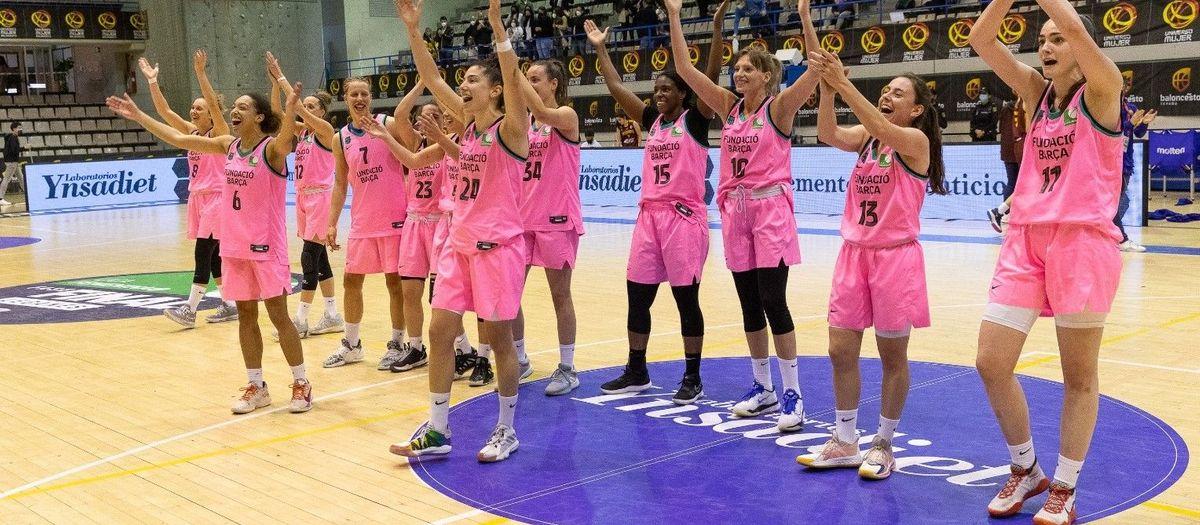 El Barça CBS se juega con el Ynsadiet Leganés el ascenso a la Llga Endesa Femenina