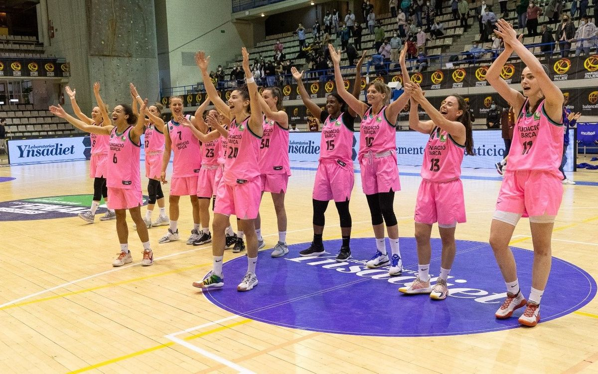 El Barça CBS es juga amb l'Ynsadiet Leganés l'ascens a la Lliga Endesa Femenina