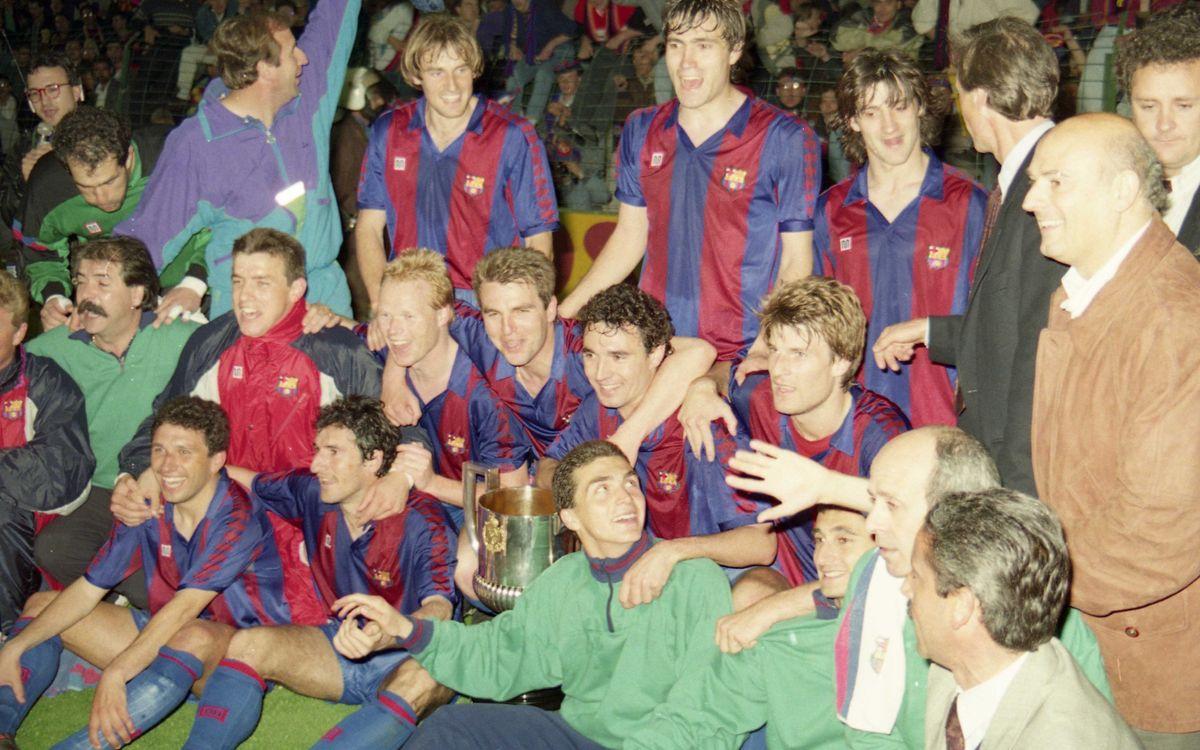 Koeman, dos títulos en dos finales de Copa