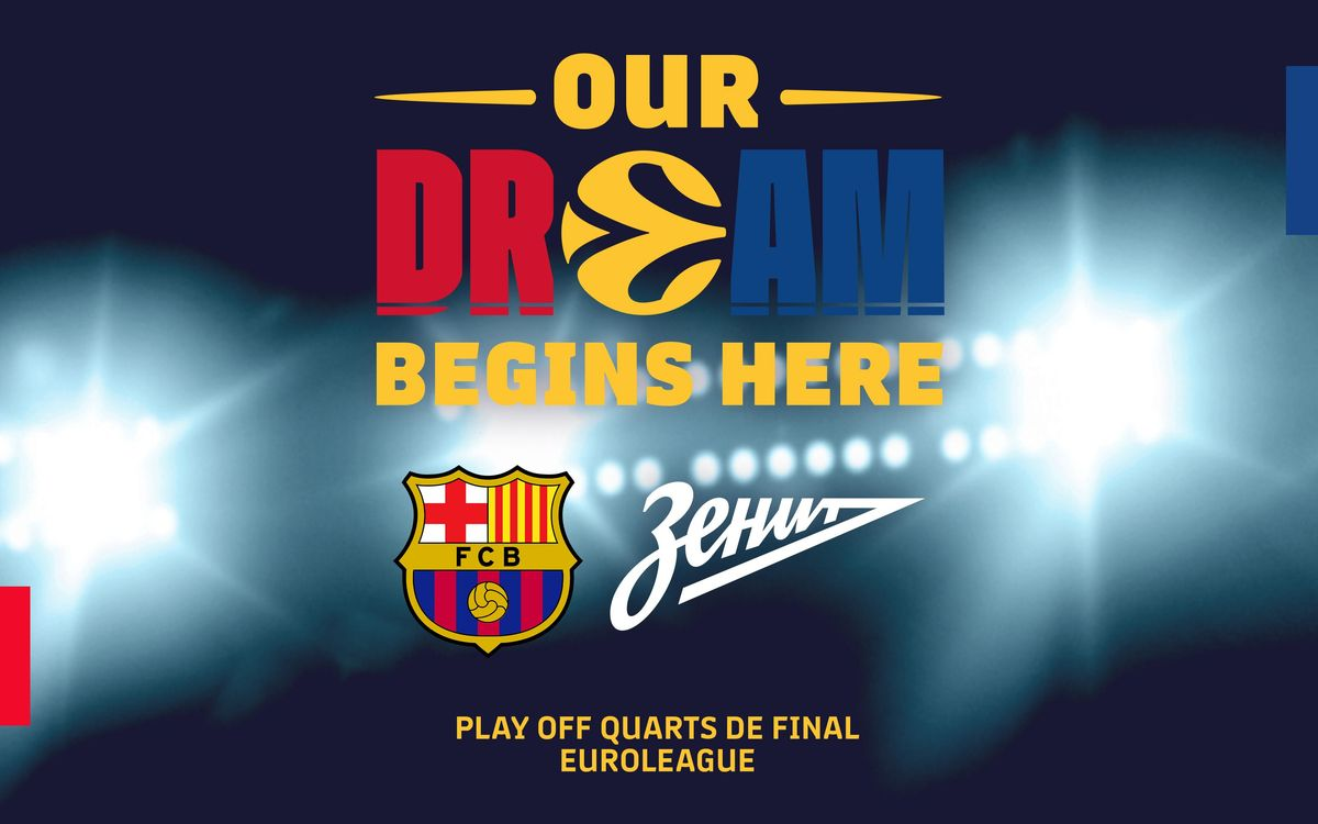 FC Barcelona to face Zenit in the Euroleague quarter finals