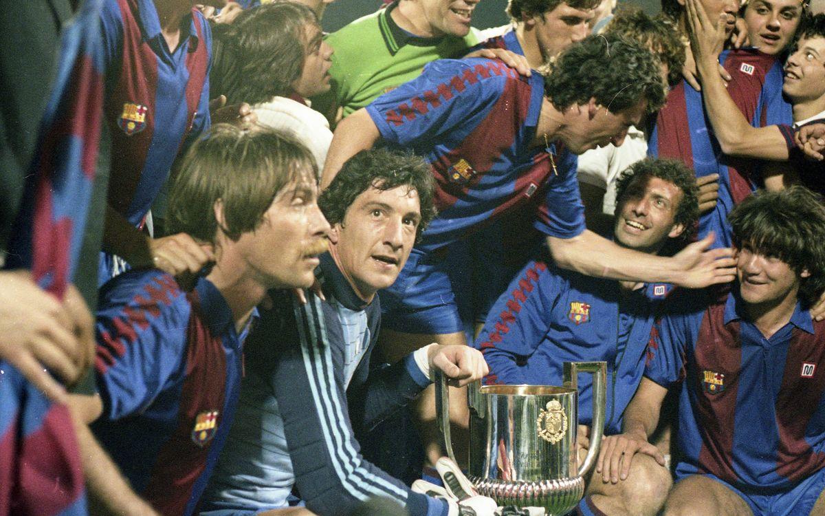 CELEBRACIÓ COPA DEL REI 1983 (SEGUÍ-FC BARCELONA)