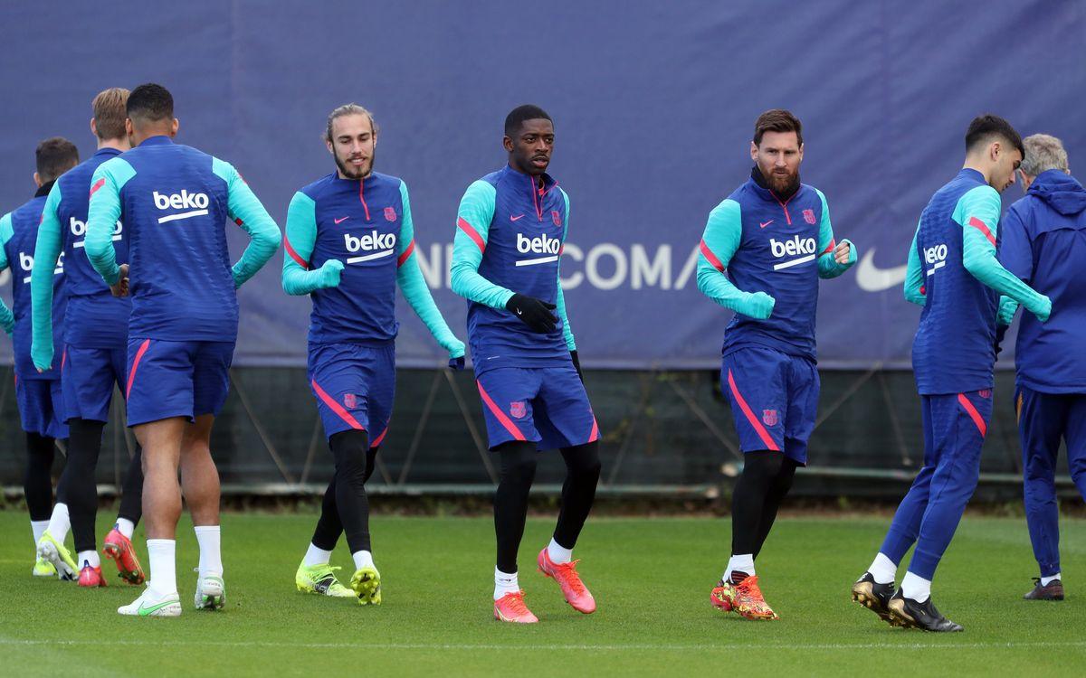 Squad named for Copa del Rey final