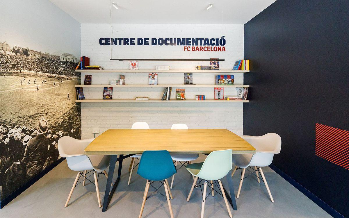El Centre de Documentació i Estudis del FC Barcelona reobre la Sala de Consulta