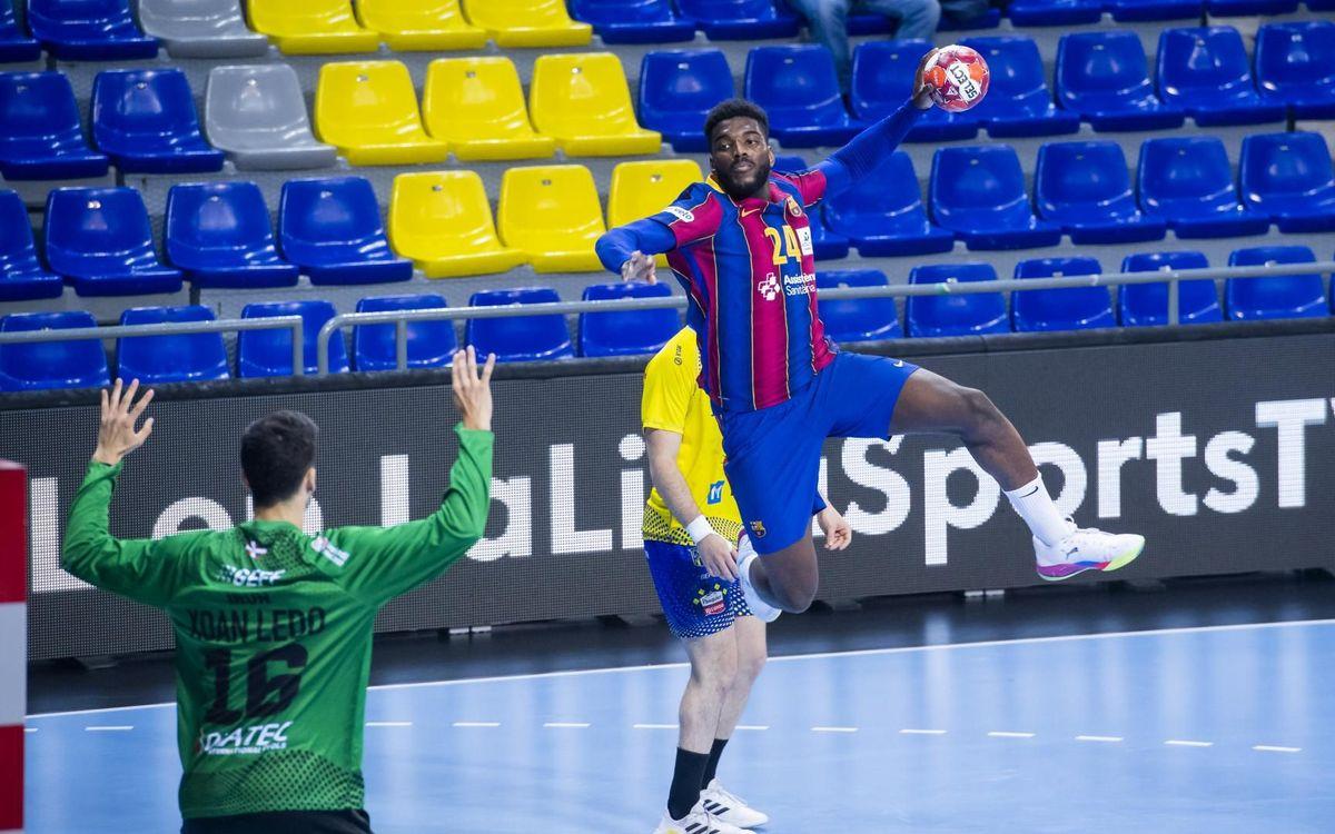 Barça - Bidasoa Irun: Más cerca del título (35-27)