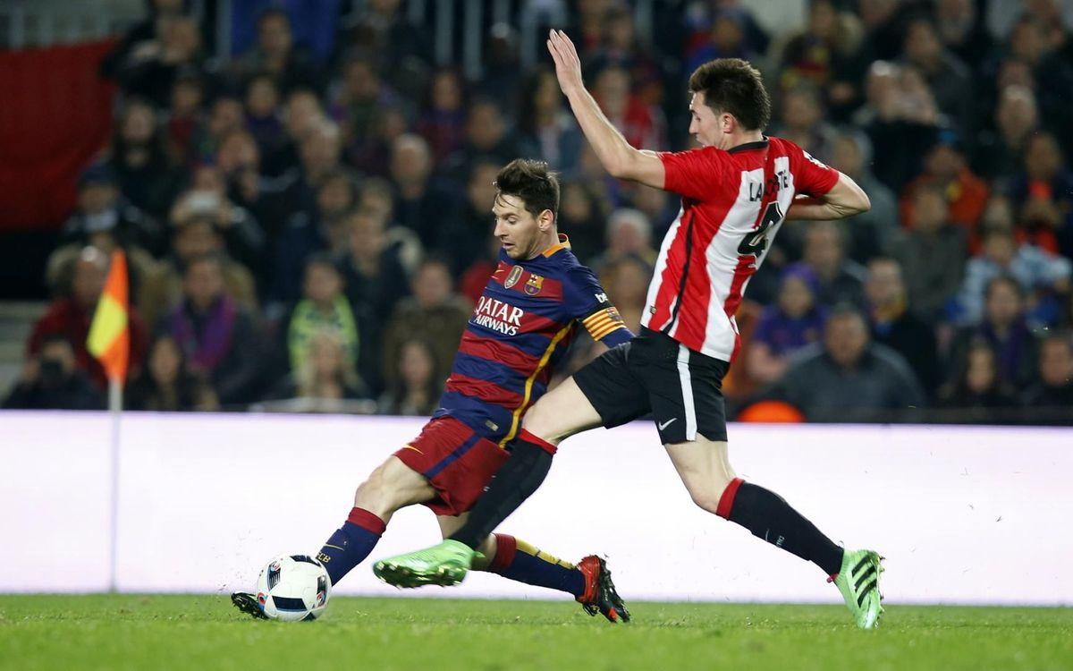 Las ocho finales previas entre Barça y Athletic Club